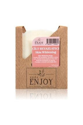 Enjoy Doğal Cilt Beyazlatıcı El Yapımı Yüz, Saç Ve Vücut Sabunu 100 gr 0