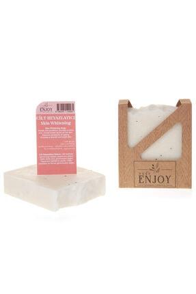 Enjoy Doğal Cilt Beyazlatıcı El Yapımı Yüz, Saç Ve Vücut Sabunu 100 gr 1