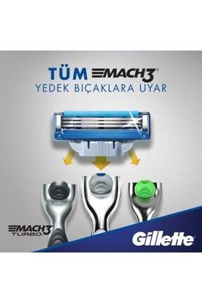Gillette Mach 3 Turbo 12'li Yedek Tıraş Bıçağı 4