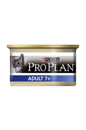 Proplan Adult +7 Ton Balıklı Yaşlı Kedi Konservesi 85 Gr 0