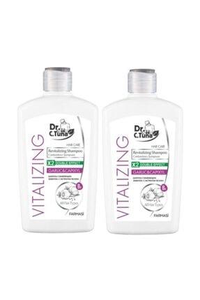 Farmasi 2 Adet Dr.c.tuna Vıtalızıng Sarımsaklı Şampuan 500 ml 0