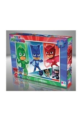 Ks Games Pj Masks 200 Parça Çocuk Puzzle - Pjm113 / 1