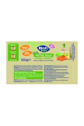 Hero Baby Kemik Sulu Karışık Sebze 120gr 2