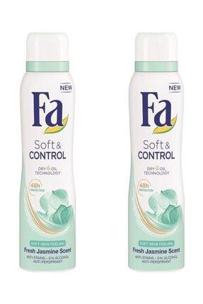 Fa Soft & Control  Deosprey 150 ml X 2 Adet 0