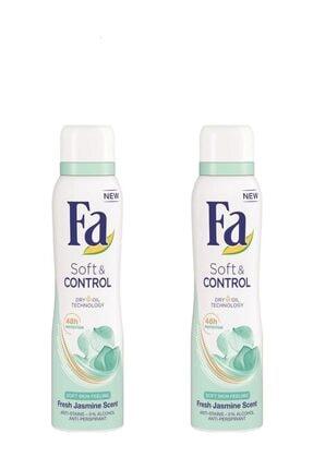 Fa Soft & Control  Deosprey 150 ml X 2 Adet 1