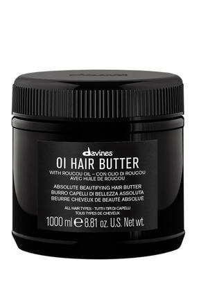 Davines Oi/Oil Butter Pürüzsüzleştirici Saç, Vucüt Bakım Kremi 1000 ml 0