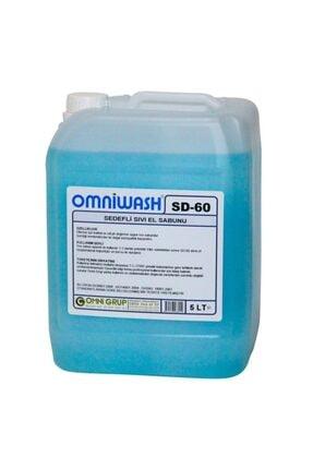 Omniwash SD-60 5 Litre Sıvı El Sabunu Nemlendiricili 0