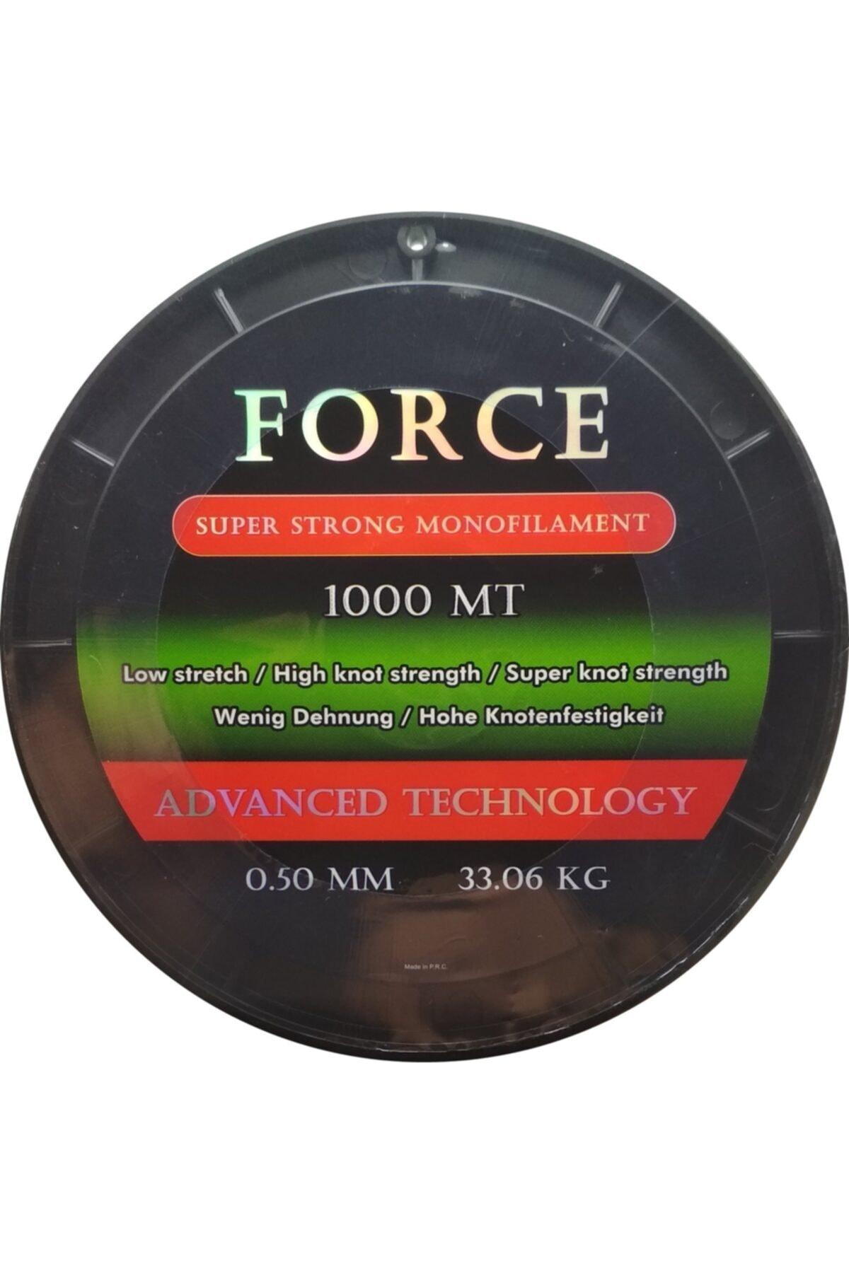 Effe Force Sazan Yayın Misinası 1000m 0.50mm 33.06Kg Yeşil