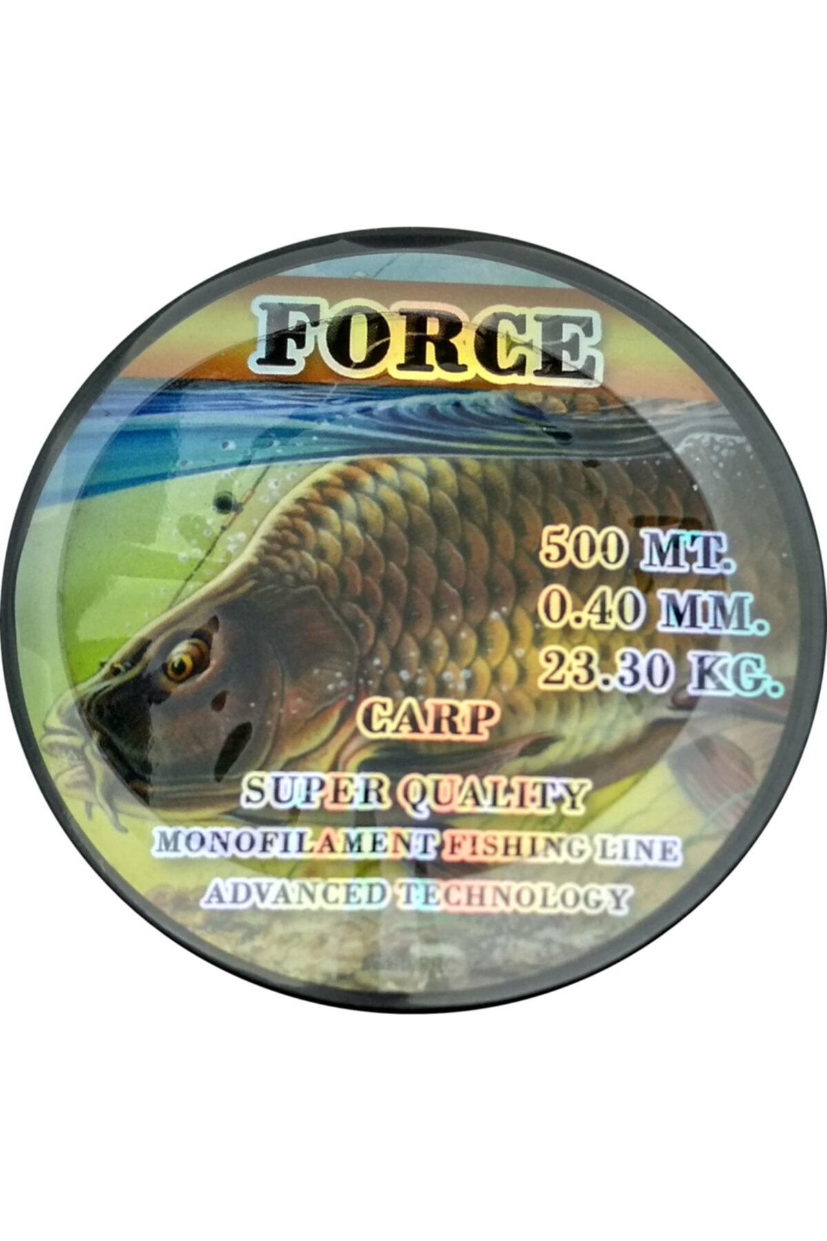 Effe Force Sazan Yayın Misinası 500 Metre 0.40mm 23.30Kg