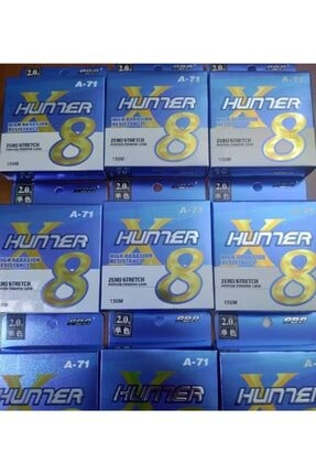 ABA HUNTER 8X 8 kat örgü ip misina 150 mt 1.0 #: 0.16mm 1