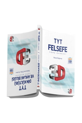 3D Yayınları Tyt 3d Felsefe + Dın Kul. Ve Ahlak Bıl. Sb 0