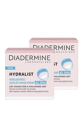 Diadermine Hydralıst Nemlendirici Bakım Kremi Jel Doku 50 ml X 2 Paket 0