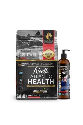 Mutamin Organics North Atlantic Health Somonlu Köpek Maması Combo Paket 3 MEDIUM/LARGE 0