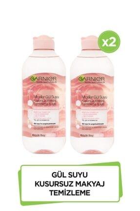 Garnier 2'li Micellar Gül Suyu Kusursuz Makyaj Temizleme & Işıltı 400 ml  36005423268582 0