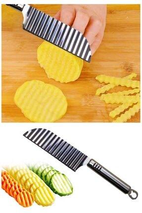 Helen's Home Şekilli Patates Bıçağı Paslanmaz Çelik 0