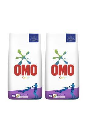 Omo Toz Çamaşır Deterjan 9 Kg Color - 2'li Paket 1