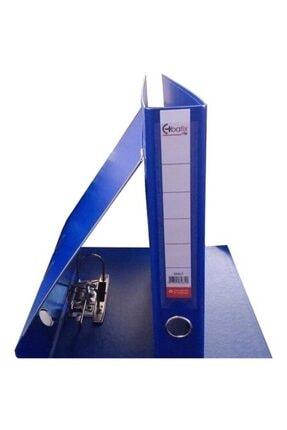 Bafix A4 Klasör Plastik Vip Dar Mavi Tekli (1 Adet) 0