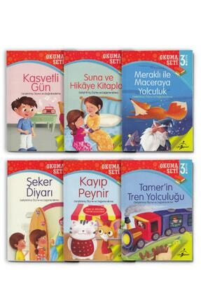 Çocuk Gezegeni Okuma Seti - Seviye 3 0