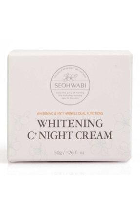 Seohwabi Whitening C+ Night Cream - Aydınlatıcı Gece Kremi 1