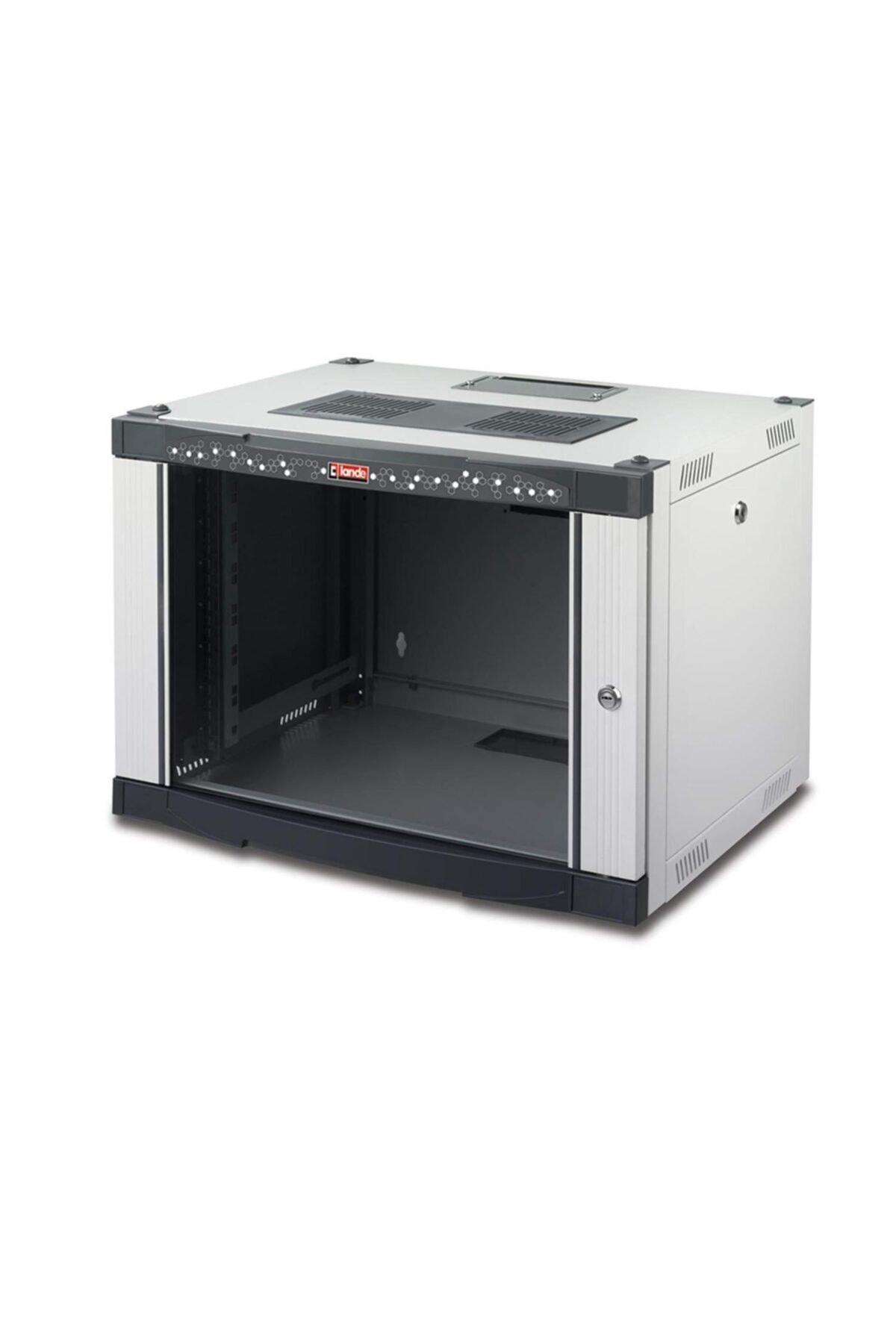 NETbox Serisi 12U 600x450 19'' Duvar Tipi Kabinet