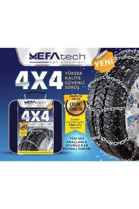 MEFATECH Mazda 3 Suv 4x4 Takmatik Kar Zinciri 2 Adet 0
