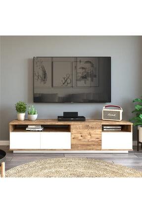 Yurudesign Future Tv Ünitesi Fr5-aw Çam-beyaz 1