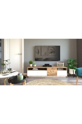 Yurudesign Future Tv Ünitesi Fr5-aw Çam-beyaz 3