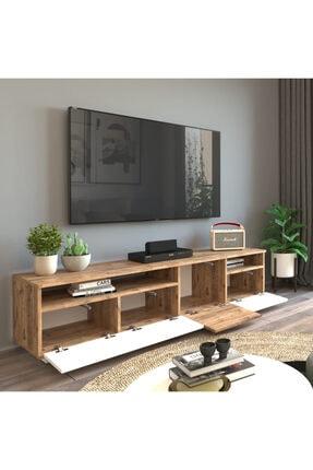 Yurudesign Future Tv Ünitesi Fr5-aw Çam-beyaz 4