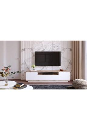 Yurudesign Future Tv Ünitesi Fr7-aw Çam-beyaz 3