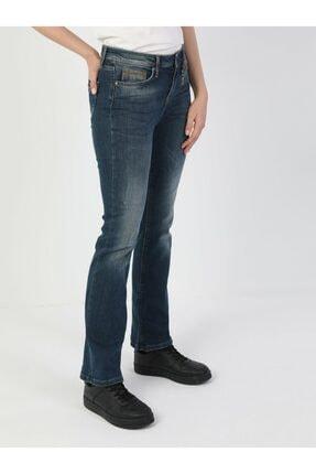 Colin's 791 Monica Normal Kesim Normal Bel Çizme Paça Koyu Mavi Kadın Pantolon .CL1048929_Q1.V1_DN40906 1