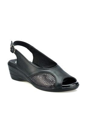 Polaris 103070.Z Siyah Kadın Sandalet 100508675 0