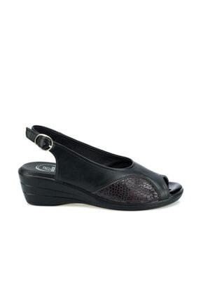 Polaris 103070.Z Siyah Kadın Sandalet 100508675 1