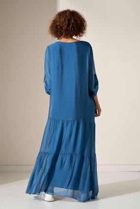 Camena V Yaka Ipek Elbise 2019070500196 2