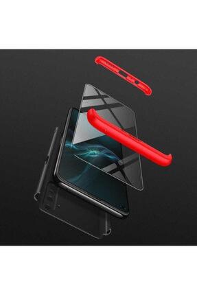 BizimGross Oppo Realme 6 3 Parça Tam Koruma Kılıf + 5d Tam Kaplayan Ekran Koruyucu 1