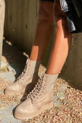 İnan Ayakkabı Kadın Kenardan Lastikli Model Postal 2