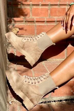 İnan Ayakkabı Kadın Kenardan Lastikli Model Postal 4