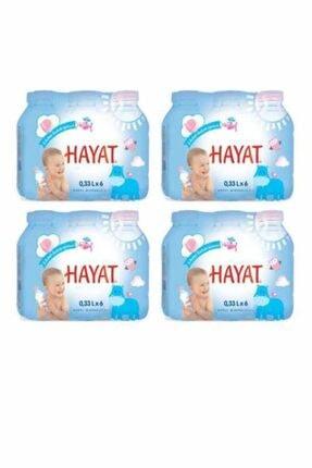 Hayat Su Hayat Doğal Mineralli Bebek Suyu 330 Ml 24'lü Paket 0