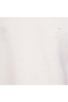 HUMMEL Erkek Beyaz Uzun Kollu Tişört 3