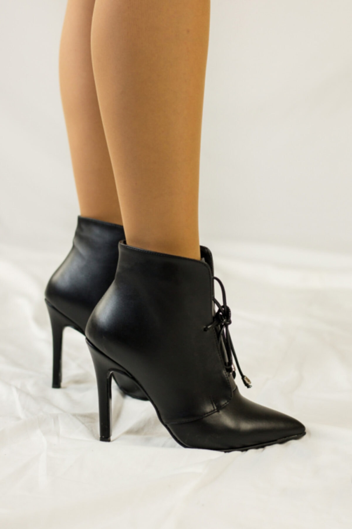 JOY BRAVE SHOES Kadın Siyah Ince Topuklu Ayakkabı