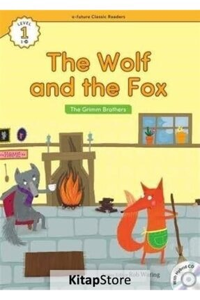E-Future Yayınları The Wolf And The Fox +hybrid Cd (ecr Level 1) 0