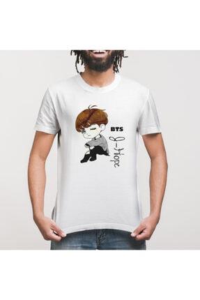 Crazy Bts J Hope Cartoon Erkek Tişört 2
