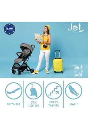 Elele Siyah Jet Kabin Tipi Bebek Arabası 1