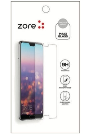 cupcase Huawei Y8p Kılıf Resim Esnek Silikon Kapak I Love U Desen + Temperli Cam 2