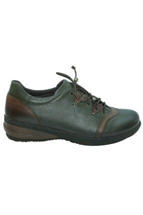 تصویر از 1244165 Yeşil Deri Casual Kadın Ayakkabı