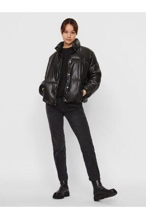 Vero Moda Kadın Siyah Kısa Bel Şişme Mont 10231837 2