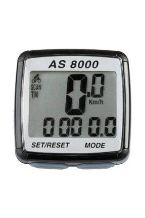 Assize Digital Kablosuz Kilometre Saati Hız Göstergesi 0