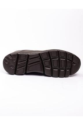 Libero 3599 Faylon Kahverengi Deri Erkek Günlük Ayakkab Kahverengi-42 4