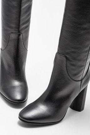 Elle Kadın Adrano-1 Sıyah Çizme 20K052 2