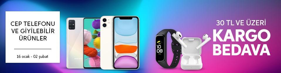 Cep Telefonu ve Giyilebilir Ürünler
