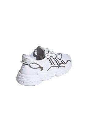 adidas Erkek Beyaz Ozweego Ayakkabı 4